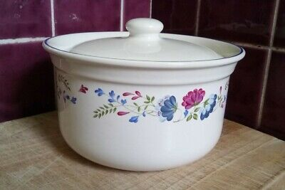 £9.95 • Buy BHS PRIORY VINTAGE TABLEWARE SMALL COVERED SERVING DISH Approx 7  Diameter