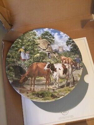 £2.99 • Buy WEDGWOOD  A Cooling Drink  Life On The Farm John L Chapman COLLECTORS PLATE