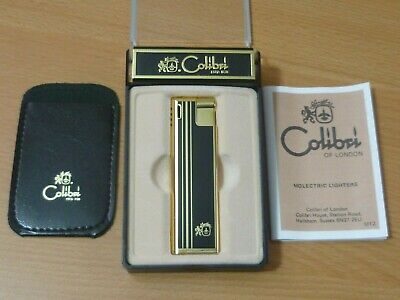 £13.50 • Buy Colibri Molectric Electronic Lighter Unused With Pouch Case