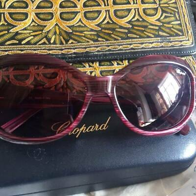 £77 • Buy CHOPARD Completely Authentic Sunglasses Pink Purple Crystal Stunning! VGC
