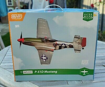 £22 • Buy P-51D Mustang ParkZone Warbird Ultra-Micro BNF AS3X RC Radio Controlled Plane