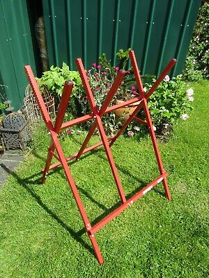 AU58.77 • Buy Oregon Saw Horse. For Holding Logs Whilst Cutting.  Metal Construction, Foldable
