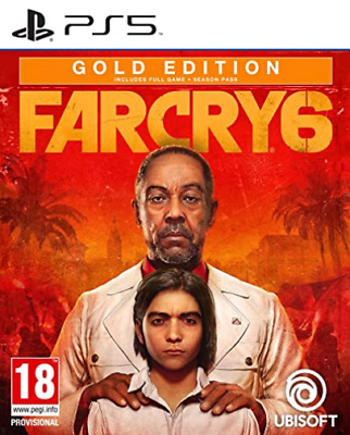 AU127.29 • Buy PlayStation 5-Far Cry 6 - Gold Edition (multi Lang In Game) (UK IMPORT) GAME NEW
