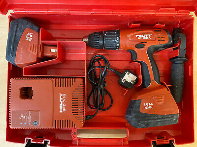 £50 • Buy Hilti SF 180-A Hammer Drill Driver & SFC 7/18 Charger