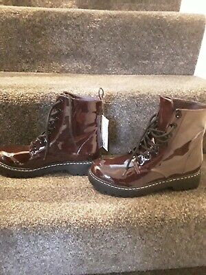 £20 • Buy H&M Burgundy Boots Size 5 Brand New With Tags