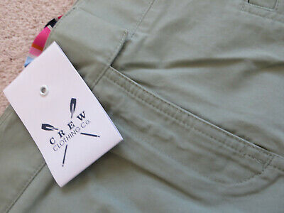 £9.99 • Buy Ladies Crew Clothing Green Chino Skirt Size 10 Brand New With Tags