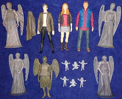£75 • Buy Doctor Who 11th Dr Matt Smith, Amy Pond, Rory, Weeping Angel Bob + Cherubs USED