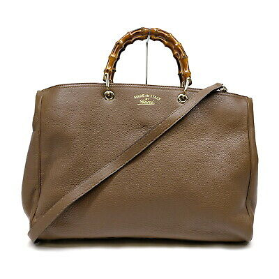 AU164.91 • Buy Gucci Tote Bag  Browns Leather 1729987