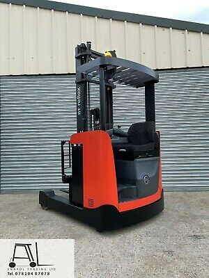 £6850 • Buy 2015 BT (TOYOTA) RRE120B 1200kg ELECTRIC FORKLIFT 6300mm REACH TRUCK LOW HOURS