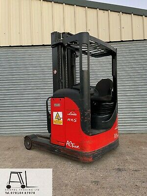 £3850 • Buy 2008 LINDE R16 1600kg ELECTRIC FORKLIFT 4600mm REACH TRUCK LOW HOURS NOT TOYOTA
