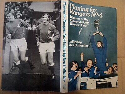 £3.50 • Buy Playing For Rangers No.4 Hardback Book..1st.Edition (1972)