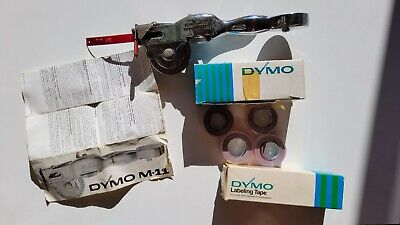 £20 • Buy Old Model Dymo M11 Label Printer And Tapes