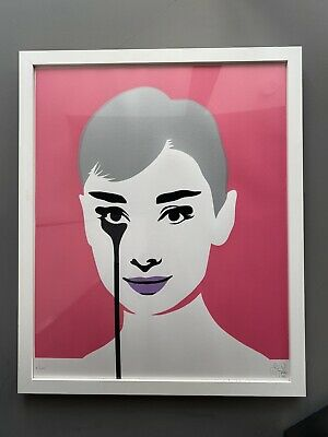 £450 • Buy RARE Pure Evil Numbered Audrey Hepburn Print - NEW PHOTO'S ADDED