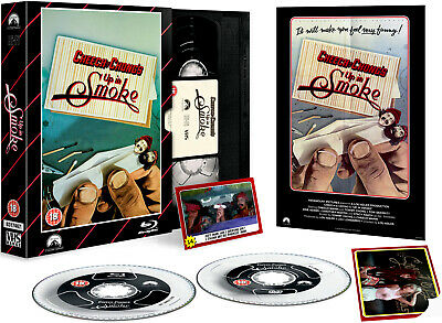 £11.79 • Buy Cheech And Chong - Up In Smoke - Limited VHS Collection DVD + Blu-Ray