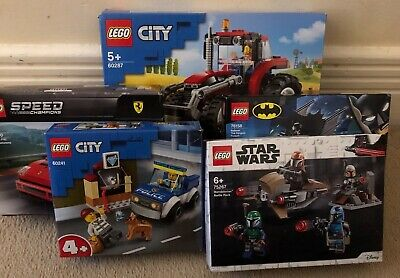 £8 • Buy 5 COMPLETE LEGO SETS- With Boxes (4 Brand New- Unopened)