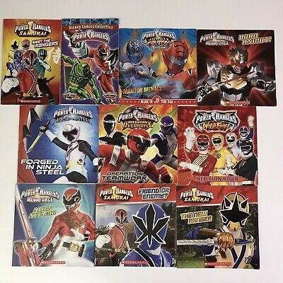 £13.11 • Buy Power Rangers 10 Picture Book Lot