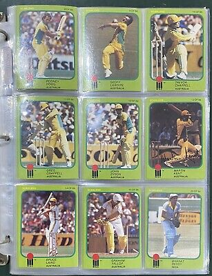 AU250 • Buy 1981 World Series Cricket Card Set With Signed Cards