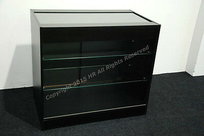 £325 • Buy  Shop Counter BLACK GLASS SHELVES FREE DELIVERY TOP QUALITY VAPES LOCKS DOORS