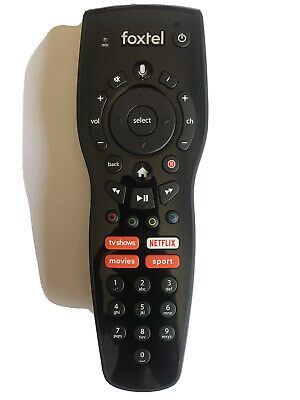 AU42 • Buy Foxtel Voice Remote Control With Netflix Button For IQ3 & IQ4. Brand New!