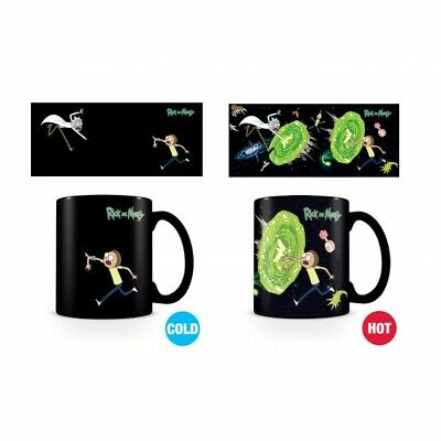 £11.95 • Buy Rick And Morty Official Portal Thermal Heat Changing Mug Tea Cup Coffee Boxed