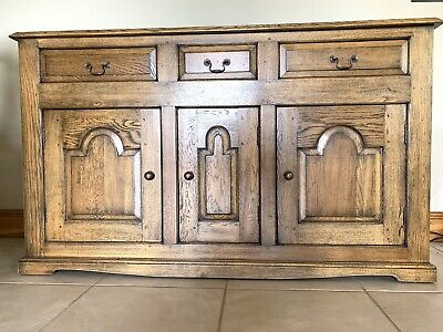 £120 • Buy French Oak Sideboard And Corner Cabinet