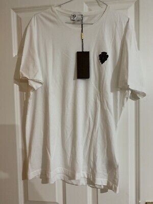 AU365.97 • Buy GUCCI Mens While T-Shirt Size XL *BRAND NEW & GENIUNE*
