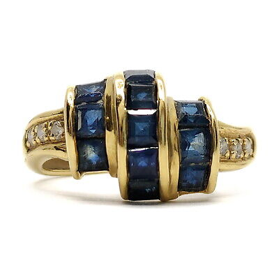 AU15.31 • Buy Jewelry Ring   Sapphire 1.41ct Yellow Gold 1814906
