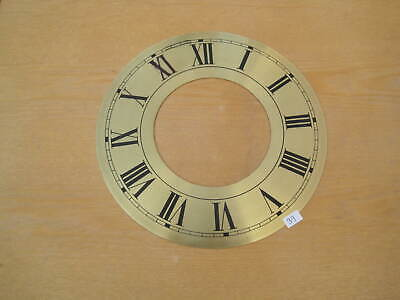 £4 • Buy Vintage Clock Dials/Faces/Chapter Rings  (BRass)