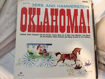 £4.99 • Buy Oklahoma Rodgers And Hammerstein LP Record