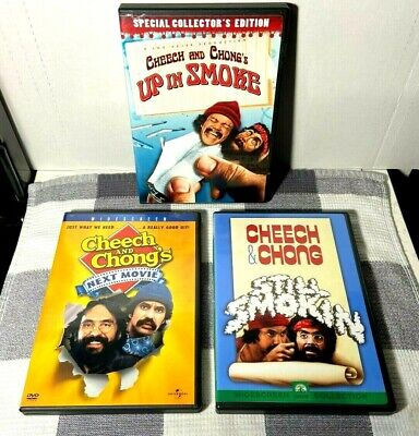 £10.85 • Buy Cheech And Chong's Lot Of 3 DVDs ~ Up In Smoke / Next Movie & Still Smokin -Mint