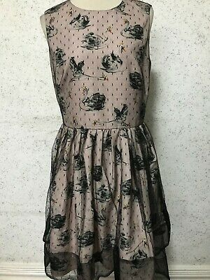 AU33.08 • Buy Red Valentino Dress Size M Polyester