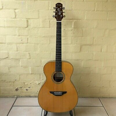 AU300 • Buy Fairclough OM Acoustic Guitar Custom Made In The UK With Hiscox Hard Case