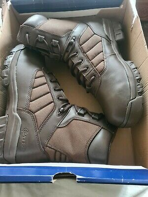£19 • Buy Bates Mens Brown Leather Patrol Combat Boots Sizes New Gen British Army Uk 6w