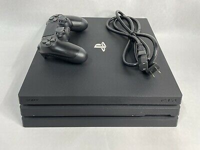 AU514.07 • Buy Sony PlayStation 4 Pro - 1TB Console With PS4 Camera, 1 Controller & 2 Games