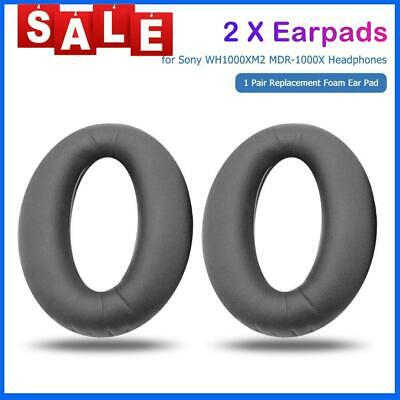 AU14.50 • Buy 1 Pair Replacement Ear Pads For Sony WH1000XM2 MDR-1000X Headphones (Black)
