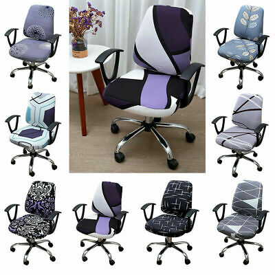 AU15.35 • Buy 1 Set Chair Cover Office Computer Chair Slipcover Elastic Chair Protector
