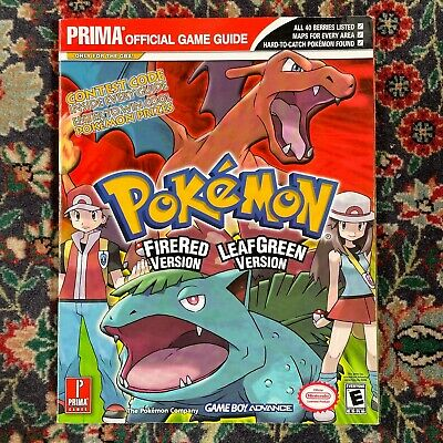 AU10.50 • Buy Pokemon Fire Red And Leaf Green Prima Game Guide (Paperback, 2004) Nintendo GBA