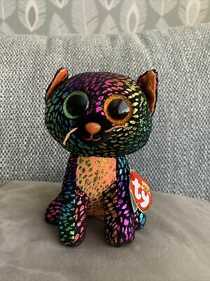 £5 • Buy Ty Beanie Boos Boo Spellbound The Halloween Cat, A Claire's Store Exclusive