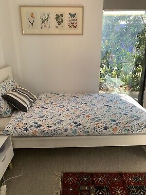 AU100 • Buy Ikea Single Bed With Mattress Very Good Condition