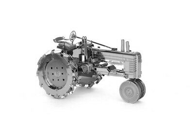 £4.75 • Buy Mini 3D Laser-etch Metal Model Kit Of Farm Tractor- Ideal Gift For The Big Boy
