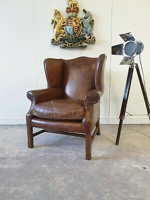 £499 • Buy 54. Superb Halo Tan Leather Chesterfield Armchair Delivery Available 🚚 🇬🇧