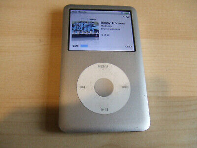 £59 • Buy WORKING VERY LOW BATTERY - IPod Classic 160GB Silver Model A1238 7th Generation