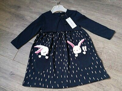 £3.99 • Buy Baby Girls Dress Age 0-3 Months New With Tags Debenhams