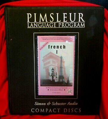 £21.75 • Buy Pimsleur Language Program--french 1--16 Cd's--30 Lessons--euro Edition