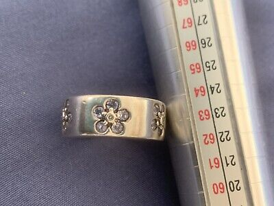 £9 • Buy Silver And Lilac Tanzanite Ring - Size I