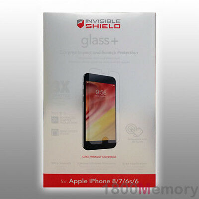 £26.91 • Buy ZAGG InvisibleShield Tempered Glass+ Screen Protector For Apple IPhone 8 7 4.7