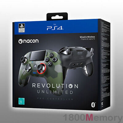 AU379 • Buy Nacon Revolution Unlimited Pro Controller Camo Green For Sony PlayStation 4 PS4