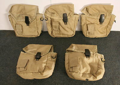 $ CDN18.13 • Buy 5 Army Type 2qt Desert Canteen Covers W/ Alice Clips New