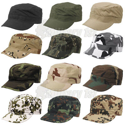 £9.95 • Buy Classic Combat Bdu Field Cap Army Military Style Patrol Hat Cotton Ripstop