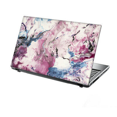 £7.95 • Buy TaylorHe 17  Laptop Skin Cover Vinyl Sticker Decal Steel Pink Abstract Painting